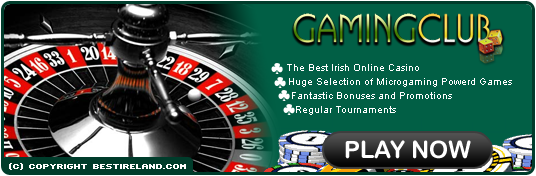Play at GamingClub.com The Best Irish Casino